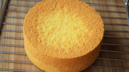 戚风蛋糕的做法 烤蛋糕超详细的过程 烘焙新手一遍过 手法清楚