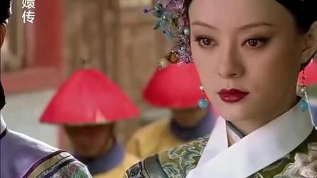 祺嫔教训下人被皇上责骂, 当时看到甄嬛的表情, 确实很霸气