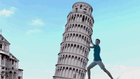 比萨斜塔为什么建成倾斜的样子, 又为什么斜而不倒?