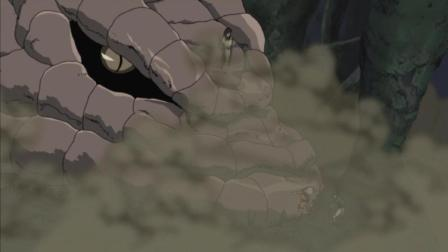 火影忍者: 呦你没受伤吧胆小鬼! 鸣人变身小强对抗大蛇丸并深深打了佐助的脸