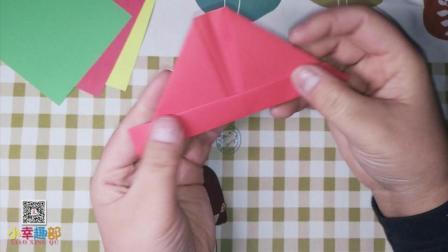 帽子 帽子折纸 帽子折法 折纸教程 手工课
