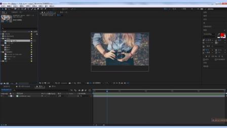 Adobe After Effects CC 2018 基础教学课程 AE教程 第5节 AE模板使用简介