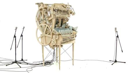 弹珠音乐机器 Marble Machine (music instrument using 2000 marbles)