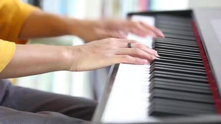 钢琴版: Way Back Home  文武贝改编演奏