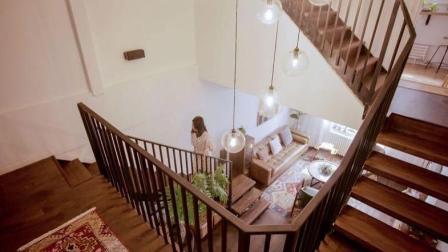 层高8米! 在北京买这种房子赚翻了, 45㎡变出3层楼!