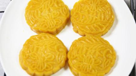 南瓜饼最正确的做法, 第多人第一步就错了, 不炸不煎, 这样做比月饼还好吃