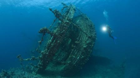 深入海洋最底端! 泰坦尼克号沉船位置这么深? 美呆了