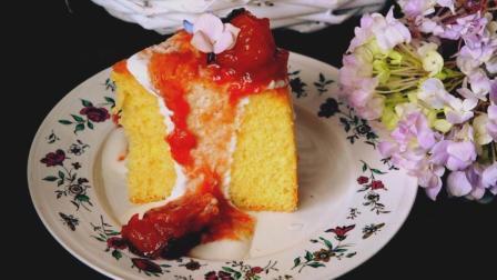 我的日常料理 第一季 超详细步骤教你制作秋季里最甜美好味道的蛋糕 黑布林奶油戚风蛋糕