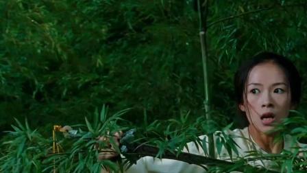 《卧虎藏龙》  周润发章子怡竹林树梢比剑