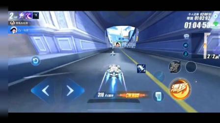 QQ飞车手游: k神水友单挑, 神仙操作太快了, 被系统强制下线!