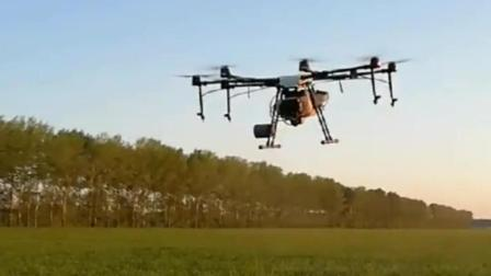 北大荒三江源, 无人机生物农药喷洒机