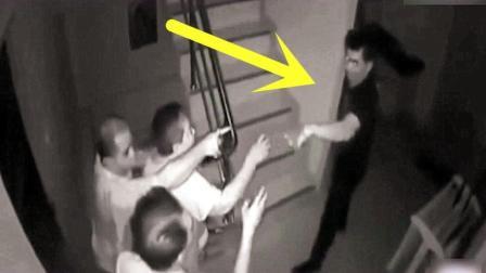 男子进屋行窃, 被主人堵在屋里, 随后主人的反应霸气了!