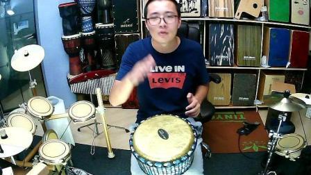 凯文先生《泡沫》非洲鼓演奏箱鼓演奏卡宏鼓丽江手鼓演奏