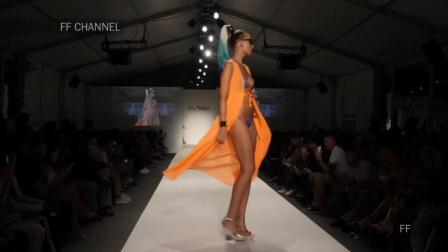 Lila Nikole 2018 哥伦比亚春夏时装秀, 超模轻轻地走来, 观众心动不已!