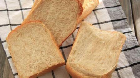 怎样用面包机做出好吃的全麦吐司? 配方给你, 一下搞定!