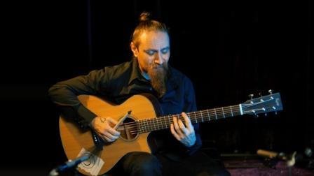 吉他平方 Kane 凯恩KA07C 原声吉他试听 意大利指弹演奏家 Gavino Loche  粉红豹
