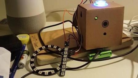 炫酷! 老外运用谷歌AI视觉识别控制LED灯