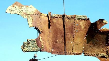 甲午海战经远舰遗址考古收官 舰体呈倒扣状出水