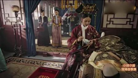 《如懿传》嘉贵妃把汤掀翻, 暴脾气的容珮想发火