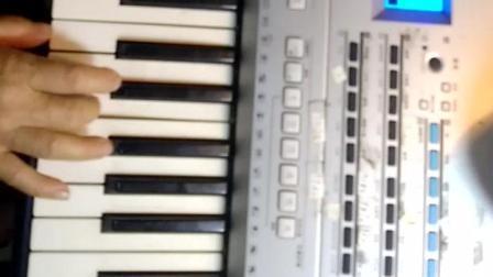 (我爱这兰色的海洋): 电子琴演奏: 纯音乐