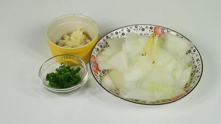 清炒冬瓜, 秋天清热降火, 还能降脂减肥, 是一道营养丰富的素材