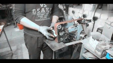 """牛人用铁板打造7个磁力座, 角磨机用的简直是"""""""