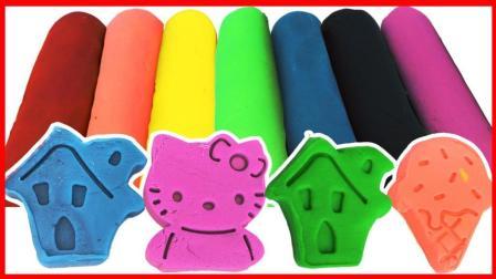 北美玩具 第一季 凯蒂猫培乐多彩泥橡皮泥,儿童认识颜色