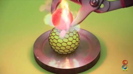 奇趣实验: 1000℃金属球vs抗压力球, 会有什么样的结果呢?