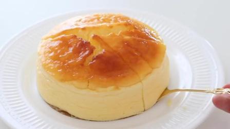酸奶舒芙蕾蛋糕的做法, 松软美味, 入口即化