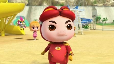 猪猪侠: 菲菲得知极地星人都是很调皮的