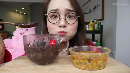 大胃王哎呦阿尤 这碗饭需要100块, 秘密就在这里