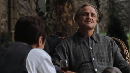 《教父》 教父与儿子的最后一次谈话, 满满的人生道理_腾讯视频