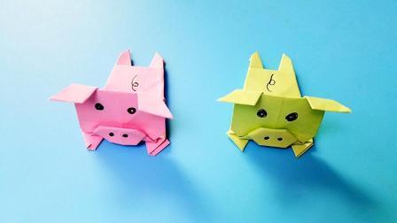 折纸王子折纸小猪佩奇的同类, 小朋友很喜欢的手工