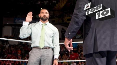 "WWE历史上十大气愤暴走""辞职不干""的场面"