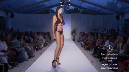 AQUA DI LARA 梅赛德斯奔驰时装周泳装秀, 长腿超模让我度过人生中最长的一分钟!