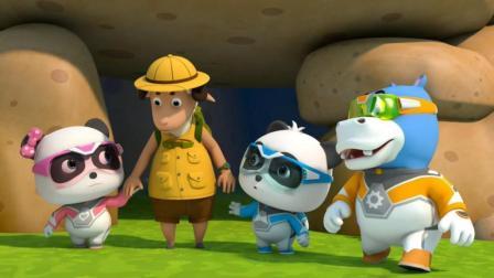 宝宝巴士救援队出动 第9集 探险家遇到危险