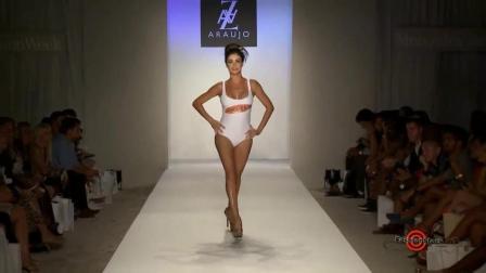 A.Z Araujo 2019 米兰泳装秀, 模特身段轻盈, 让人蠢蠢欲动!