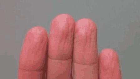 为什么手指一长时间泡水, 就变得皱巴巴像要化了? 答案没那么简单