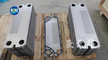 板式换热器板片仓库一角