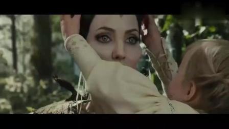 沉睡魔咒: 小公主和仙子的第一次见面, 画面还是很暖的!