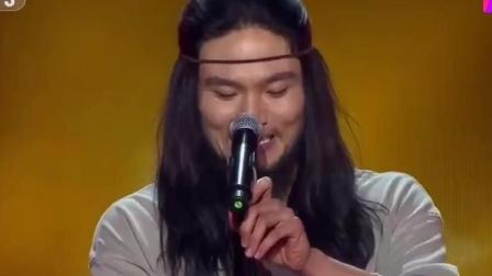 《中国好歌曲》刘欢说他迄今为止最奇葩, 用声音征服导师, 太棒了