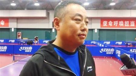 刚被任命! 刘国梁就第1时间来到国乒训练馆, 小细节彰显特殊地位