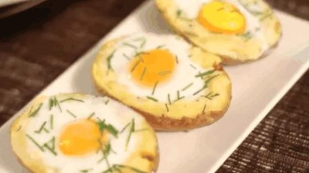 马铃薯鸡蛋馅糕点制作方法食谱