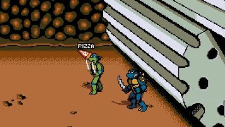 【小握解说】武道馆地下室的秘密《FC忍者神龟2: 扩展版》最终期