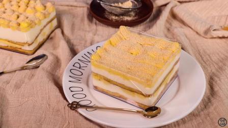 学做豆乳盒子, 豆浆做的蛋糕, 甜而不腻, 不愧是日式的网红甜品!