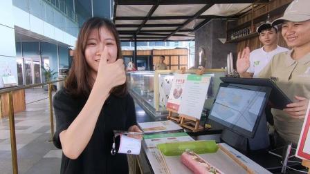 探秘广州聋哑人蛋糕店: 面包香软好吃, 店员小姐姐微笑动人!