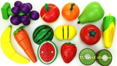 蔬菜图片认识水果果蔬连连看