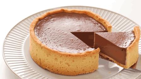 自制烤巧克力芝士挞, 香浓细腻的美味甜点