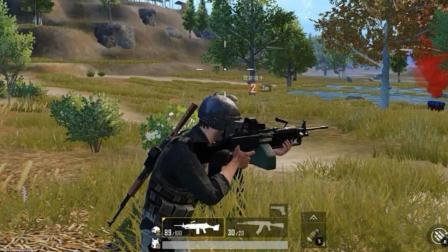 狙击手麦克: 挑战新玩法, 把M249当98K, 单发点射一枪爆头