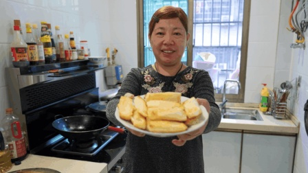 糍粑最简单的做法, 农村阿姨教你在家轻松做, 外酥里糯真好吃